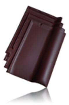 Wienerberger L15 užkaitinė čerpė, tamsiai ruda angoba / Kunice