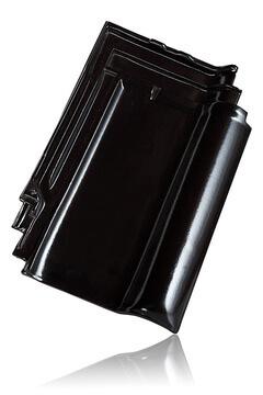 Wienerberger L15 užkaitinė čerpė, juoda blizgi angoba / Kunice