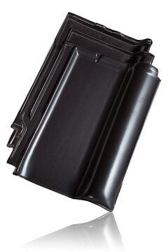 Wienerberger L15 užkaitinė čerpė, juoda angoba / Kunice